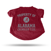 Alabama Crimson Tide MAROON PET T-SHIRT - MEDIUM