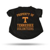 Tennessee Volunteers BLACK PET T-SHIRT - LARGE