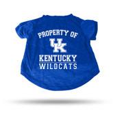 Kentucky Wildcats ROYAL PET T-SHIRT - MEDIUM