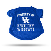 Kentucky Wildcats ROYAL PET T-SHIRT - XL
