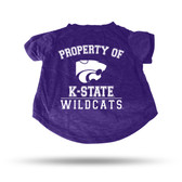 Kansas State Wildcats PURPLE PET T-SHIRT - XL