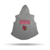 Louisville Cardinals PET HOODIE - SMALL