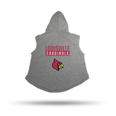 Louisville Cardinals PET HOODIE - XL