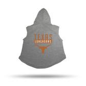 Texas Longhorns PET HOODIE - SMALL