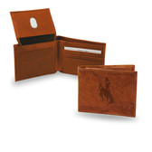 Wyoming Cowboys Embossed Billfold