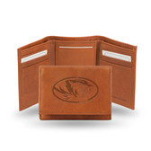Missouri Tigers Embossed Leather Trifold