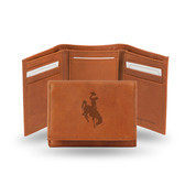 Wyoming Cowboys Embossed Trifold