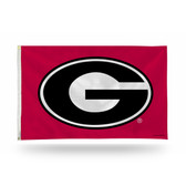 Georgia Bulldogs OVAL G Banner Flag