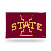 "Iowa State Cyclones ""I"" LOGO Banner Flag"