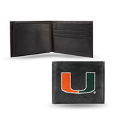 Miami Hurricanes Embroidered Billfold