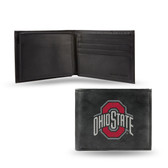 Ohio State Buckeyes Embroidered Billfold