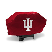 Indiana Hoosiers DELUXE GRILL COVER (Red)