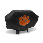 Clemson Tigers DELUXE GRILL COVER (Black)