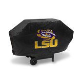 LSU Tigers DELUXE GRILL COVER (Black)