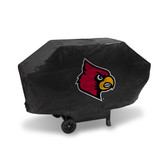 Louisville Cardinals DELUXE GRILL COVER (Black)