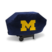 Michigan Wolverines DELUXE GRILL COVER (Navy)