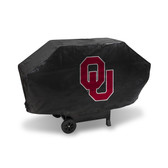 Oklahoma Sooners DELUXE GRILL COVER (Black)