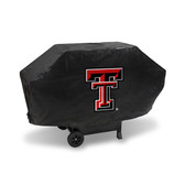 Texas Tech Red Raiders DELUXE GRILL COVER (Black)