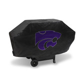 Kansas State Wildcats DELUXE GRILL COVER (Black)