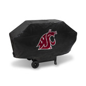 Washington State Cougars DELUXE GRILL COVER (Black)