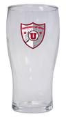 Utah Utes Pilsner Glass