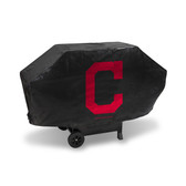 Cleveland Indians DELUXE GRILL COVER (Black)