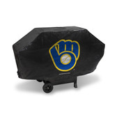 Milwaukee Brewers DELUXE GRILL COVER (Black)
