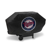 Minnesota Twins DELUXE GRILL COVER (Black)