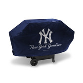 New York Yankees DELUXE GRILL COVER (Navy)