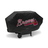Atlanta Braves DELUXE GRILL COVER (Black)