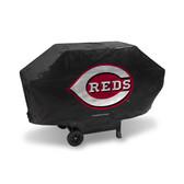 Cincinnati Reds DELUXE GRILL COVER (Black)