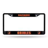 Baltimore Orioles BLACK Chrome Frame