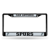 San Antonio Spurs BLACK Chrome Frame