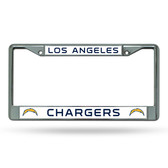 Los Angeles Los Angeles Chargers Chrome Frame