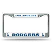 Los Angeles Dodgers Chrome Frame