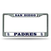 San Diego Padres Chrome Frame