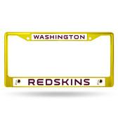 Washington Redskins COLORED Chrome Frame SECONDARY YELLOW