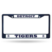 Detroit Tigers NAVY COLORED Chrome Frame