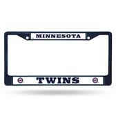 Minnesota Twins COLORED Chrome Frame SECONDARY NAVY