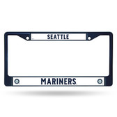 Seattle Mariners NAVY COLORED Chrome Frame