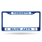 Toronto Blue Jays BLUE COLORED Chrome Frame