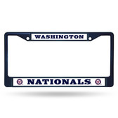 Washington Nationals NAVY COLORED Chrome Frame