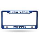 New York Mets COLORED Chrome Frame BLUE