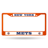 New York Mets ORANGE COLORED CHROME SECONDARY FRAME