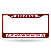Arizona Diamondbacks MAROON COLORED Chrome Frame