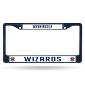 Washington Wizards NAVY COLORED Chrome Frame