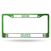 Boston Celtics GREEN COLORED Chrome Frame