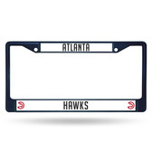 Atlanta Hawks NAVY COLORED Chrome Frame