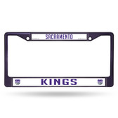 Sacramento Kings PURPLE COLORED Chrome Frame