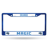 Orlando Magic BLUE COLORED Chrome Frame